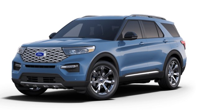 New 2020 Ford Explorer Platinum SUV FAE200002 in Getzville, NY